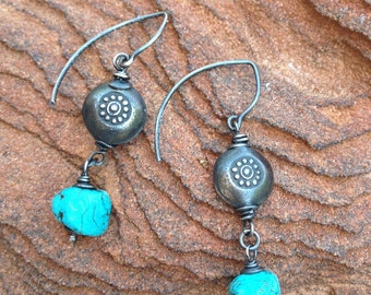 Turquoise Trail earrings