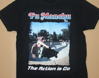 Fu Manchu, The Action Is Go, T-shirt 100% Cotton