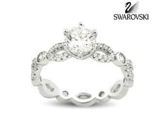 Swarovski Solitaire Ring R1022W