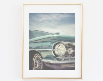 Old-timer, Classic Car Photograph, Digital Photo Print, Cadillac photography, Vintage Car Print, Old school Car Photo, Wall Art, Home Decor