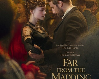"Far From the Madding Crowd ""B"" 13.5x20 Promo Movie Poster"