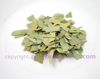 EUCALYPTUS, sheet and chips, EUCALYPTUS, leaf, flake