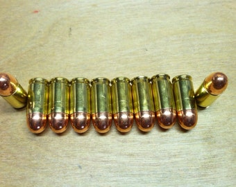 380 Auto Dummy Rounds for crafting choose between Yellow or Nickel plated brass
