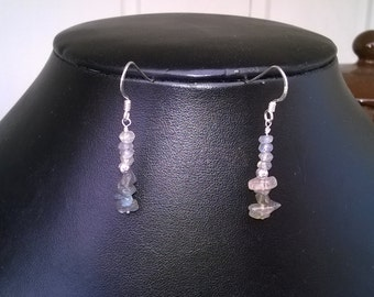 New - Labradorite and sterling silver Earrings