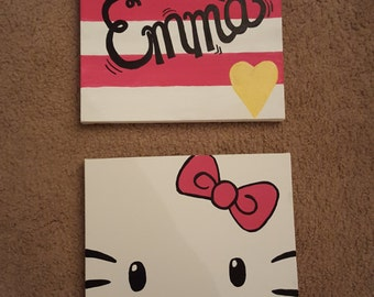 Custom Personalized Character Canvas