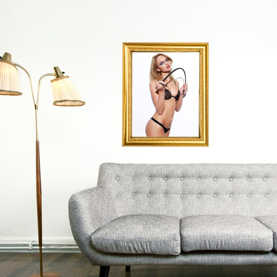 Sexy Mistress In Frame Style Decal Mens By Greatdealsandgifts
