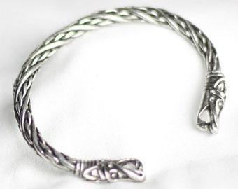 Viking Norse Small Dragon Bracelet ABLET001