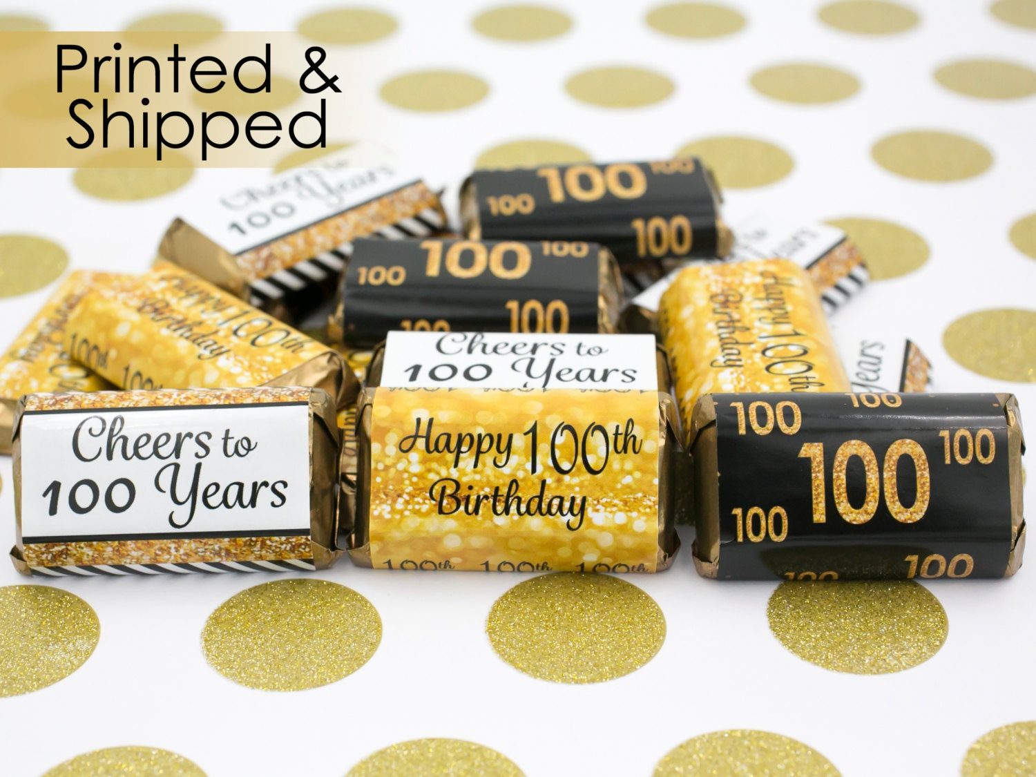 100th birthday party decorations gold black by distinctivs for 100th birthday decoration ideas