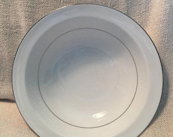 """Noritake 10"""" round serving bowl. Pattern 6115."""