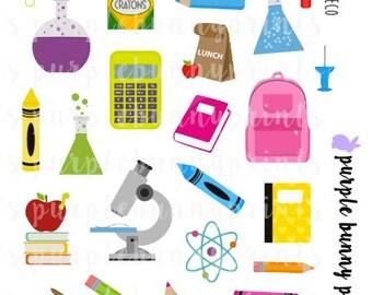 School Deco // Planner Stickers!