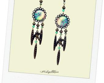 long Bohemian earrings