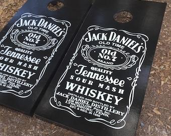 Jack Daniels Cornhole Set w/ Bean Bags