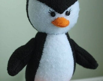 Penguin Toy Plush