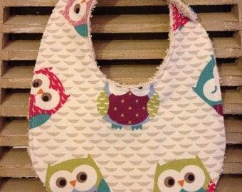 Bib baby owls