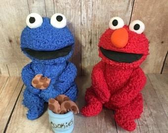 Sesame street edible cake toppers