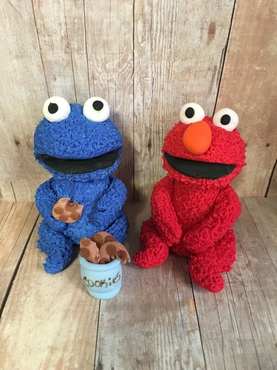 sesame street cake toppers sesame edible cake toppers 7302
