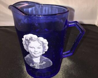 Shirley Temple Creamer - Blue