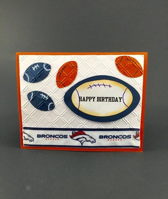 Denver BroncosDenver Broncos CardDenver Broncos Birthday