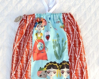 Frida Kahlo Toddler Dress size 18 mo.-2T