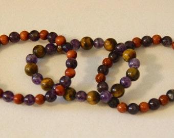 Beaded Bracelets, set of 3