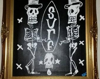 Skull Surf by A.J. Little