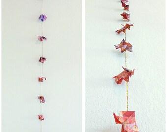 Garland origami elephant