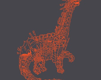 Festisaurus Organic Cotton T Shirt