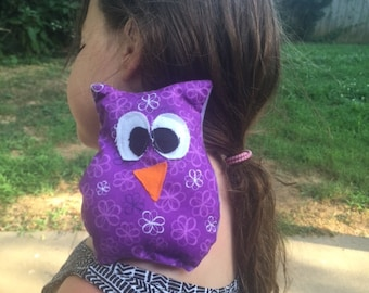 Owie Owl Rice Bag Hot Cold pack