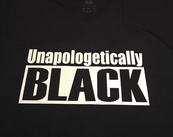 Youth Unapologetically Black Shirt