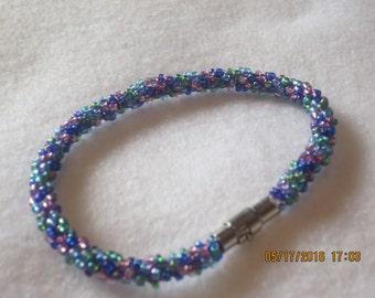 0041 Kumihimo Sprial Bracelet
