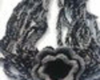 crochet collar or necklace