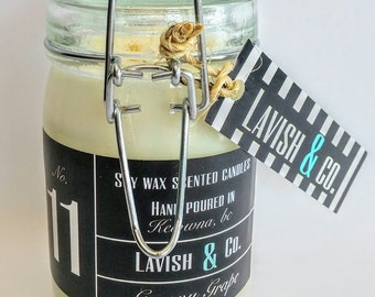 12 oz. Soy Jar Candle - Handcrafted
