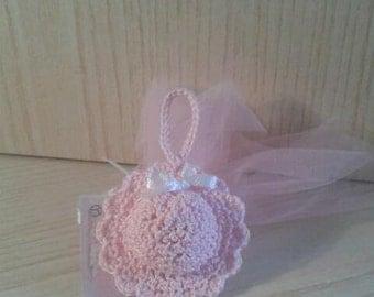 Wedding favor baby bonnet