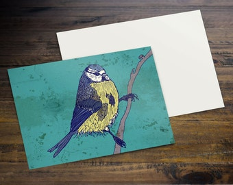 Bluetit - Postcard (A6)