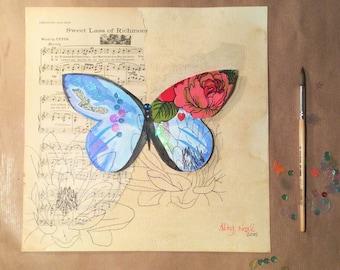 Butterfly Original 11.69 x 11.69″