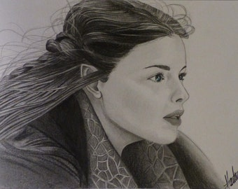 Portrait of ARWEN, The Lord of the Ring
