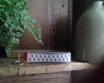 Gray Cube Key Fob