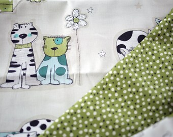 Hand made to order. Pick your material and I will create a one off quilt for baby