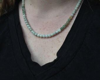 Simple Jade Necklace