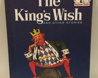 """Vintage 1960 """"THE KING'S WISH and Other Stories"""" by Benjamin Elkin Hardback Book"""