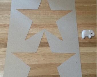 Large Star Stencil. Star. Stars. Star Stencils. Star Stencil. Wall Stencils. Star Wall Stencils.
