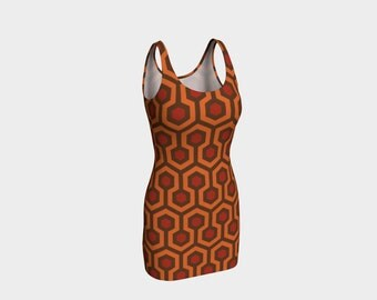 overlook hotel - the shining - printed dress