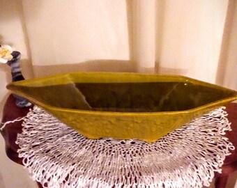 Diamond shaped centerpiece vase