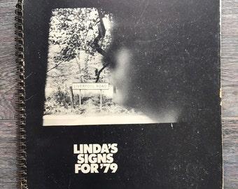 Linda 's signs for '79 vintage calendar