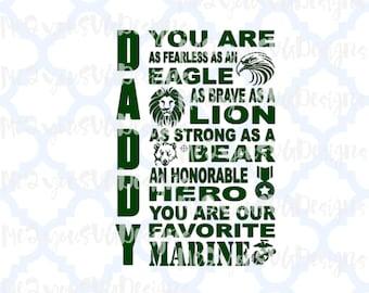 Marine Daddy SVG,EPS,PNG,Studio