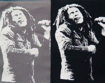 BOB MARLEY (66) rasta patch