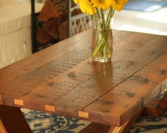 Rough Cut Cedar Coffee Table *Local Pickup Only*