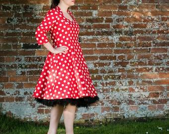 Polka Dot Fifties style dress