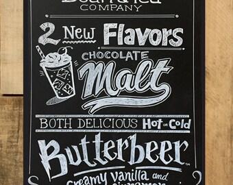 Custom Coffee Shop Sign