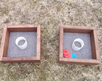 Handcrafted Washer Toss Game
